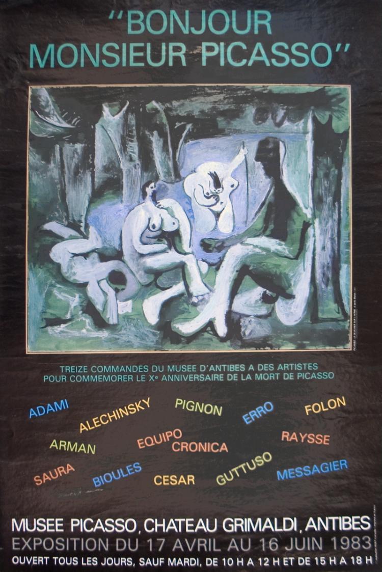 Pablo Picasso - Bonjour Mr Picasso - 1983
