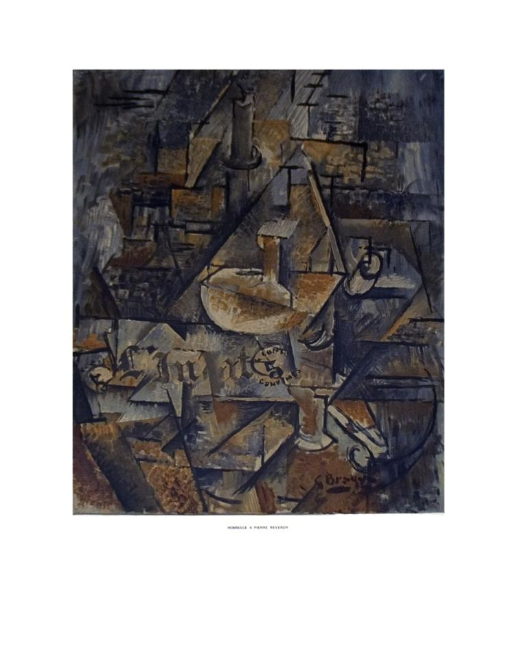 Georges Braque - Homage a Pierre Reverdy