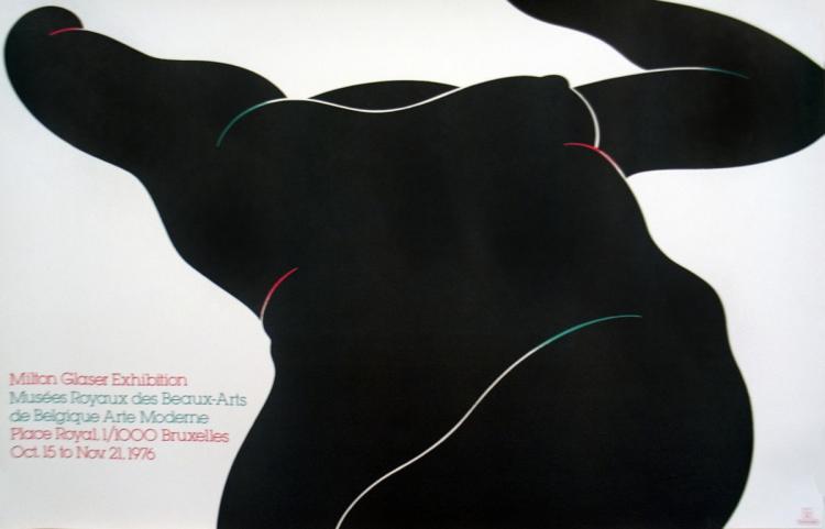 Milton Glaser - Musee Royaux des Beaux-Arts - 1976