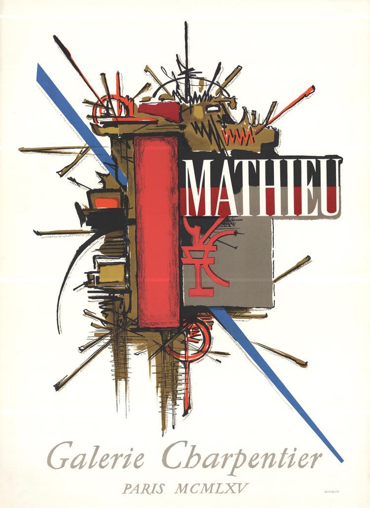 Georges Mathieu - Galerie Charpentier - 1965