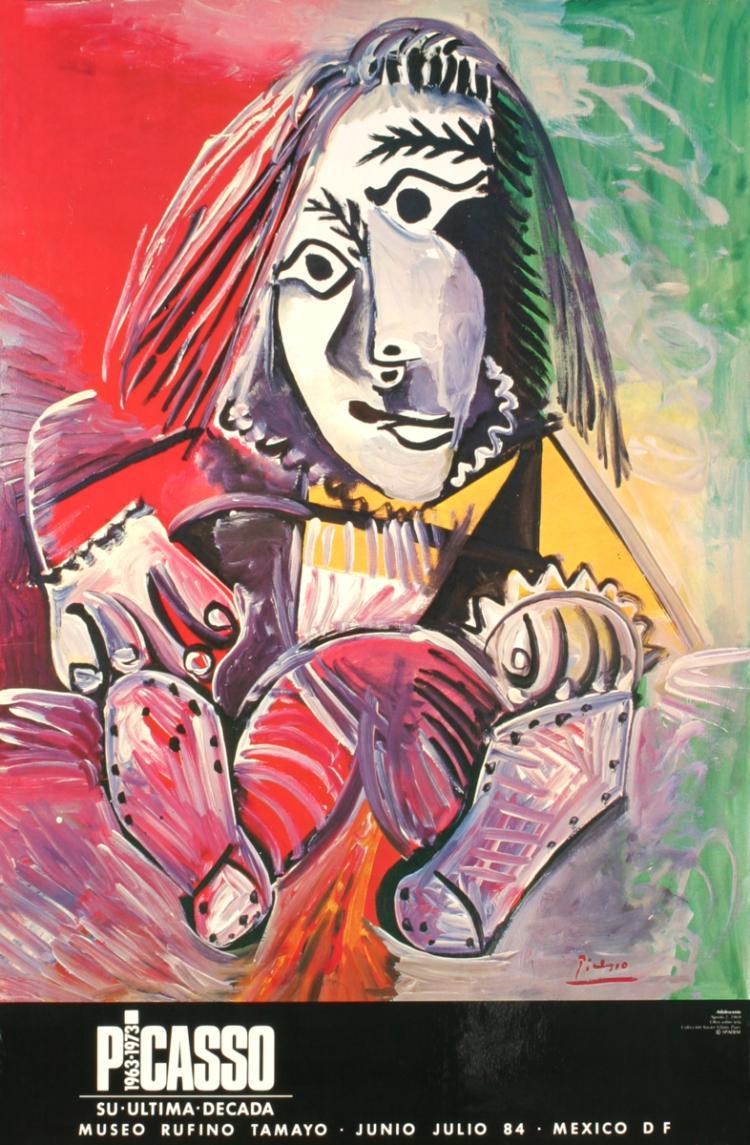 Pablo Picasso - Adolescente - 1984