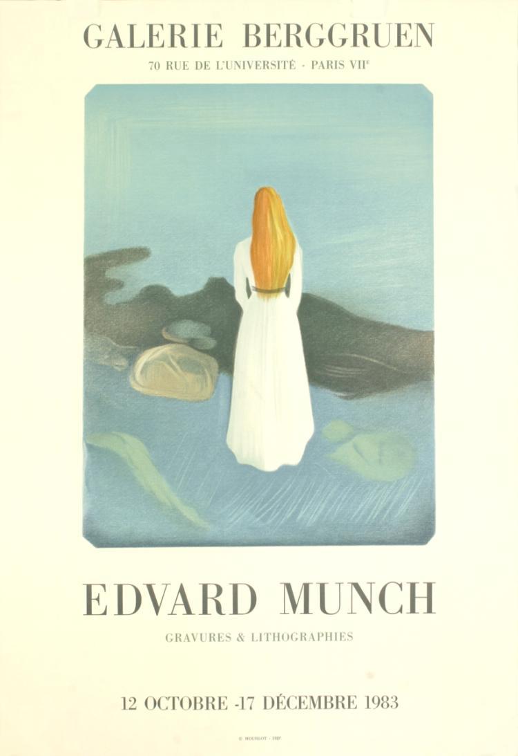 Edvard Munch - Galerie Berggruen - 1983