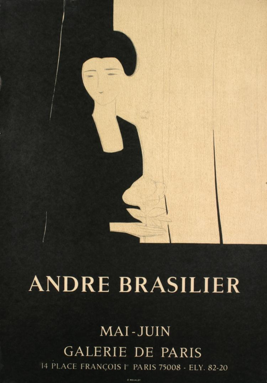 Andre Brasilier - Galerie de Paris