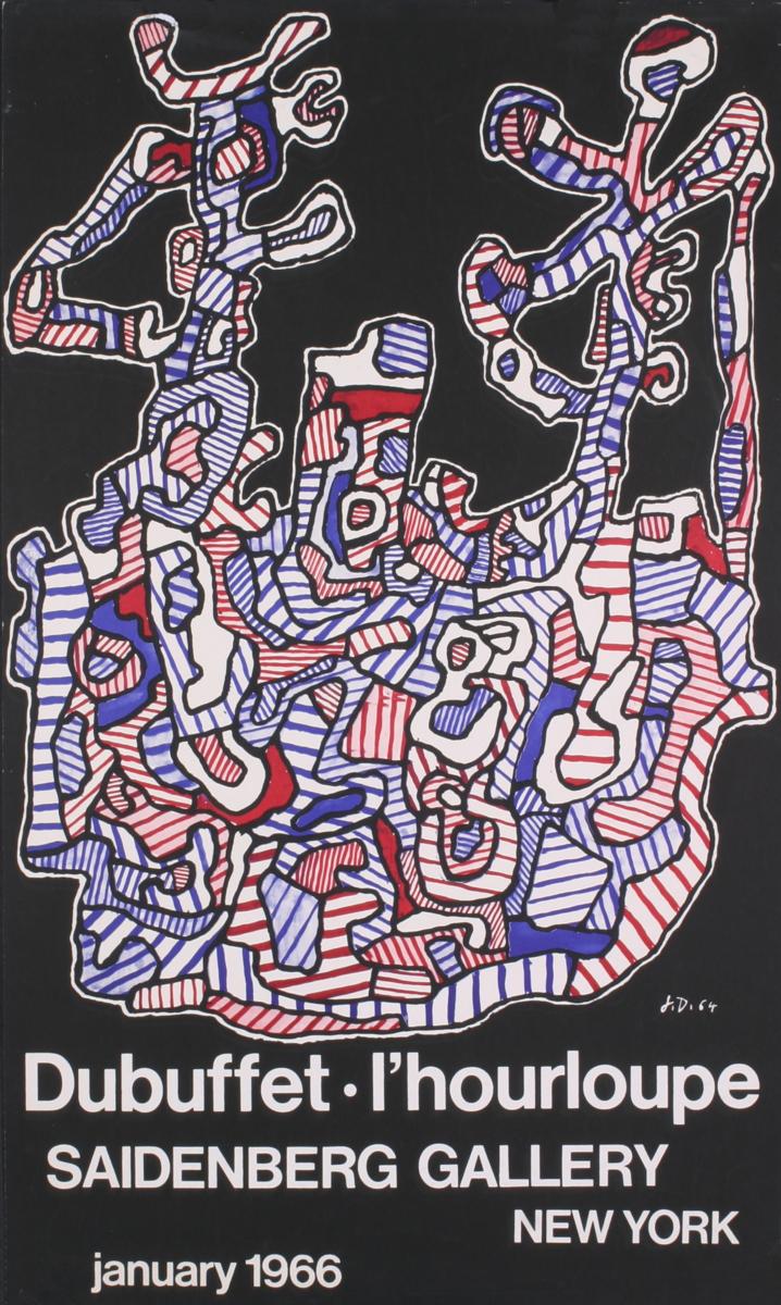Jean Dubuffet - L'Hourloupe - 1966