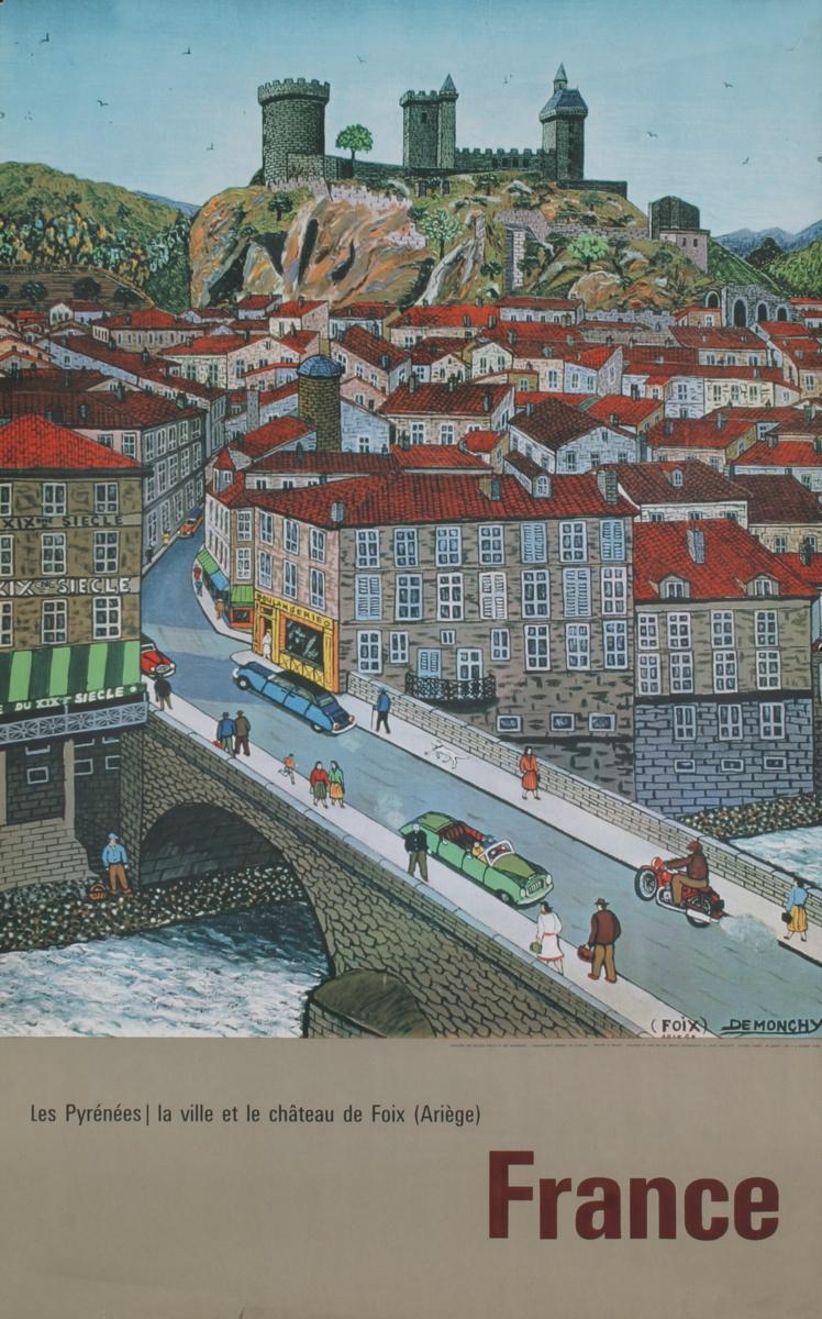 Andre Demonchy - France- Les Pyrenees-Foix
