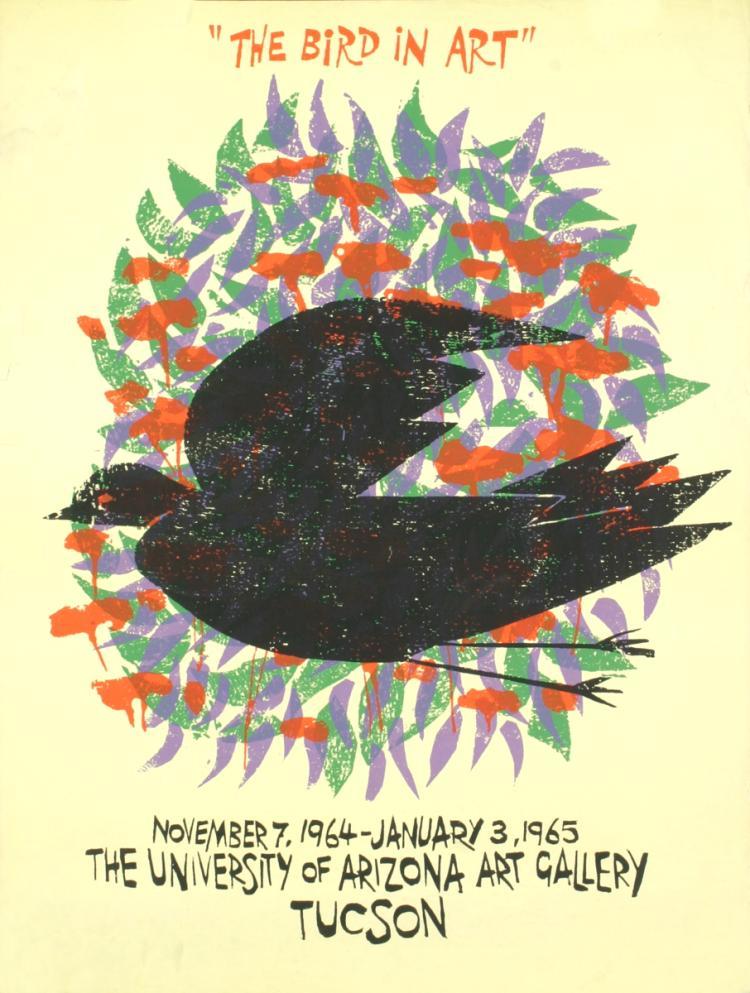 Antonio Frasconi - The Bird In Art - 1964