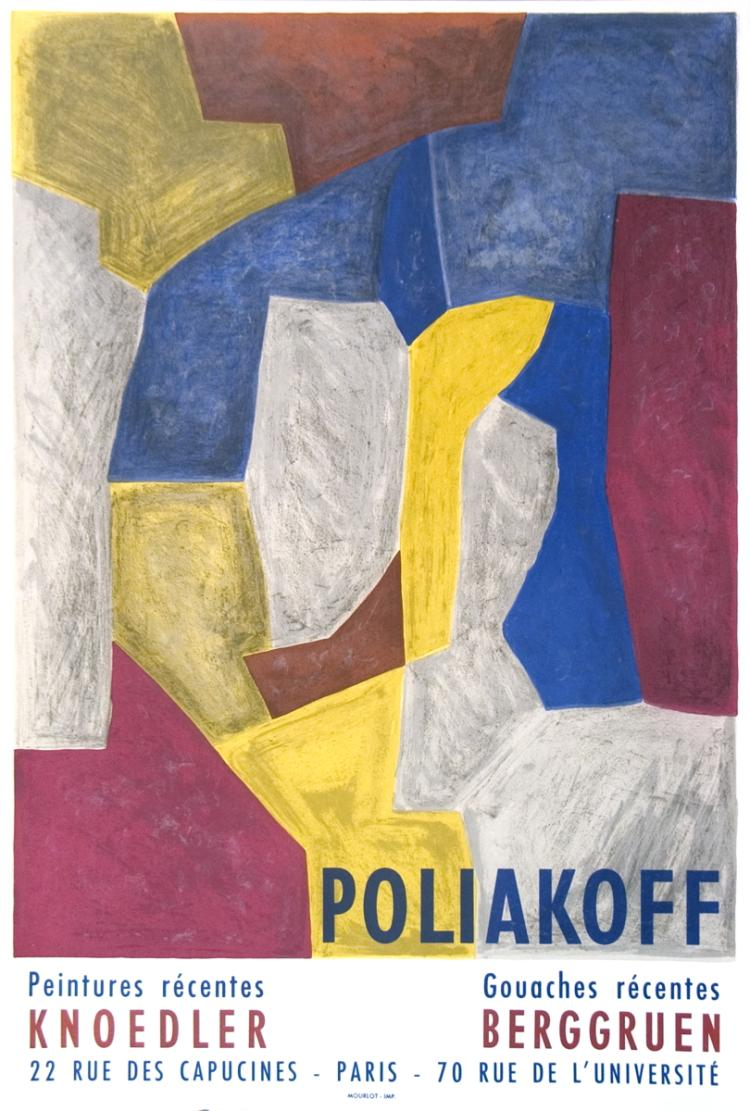 Serge Poliakoff - Peintures Recentes