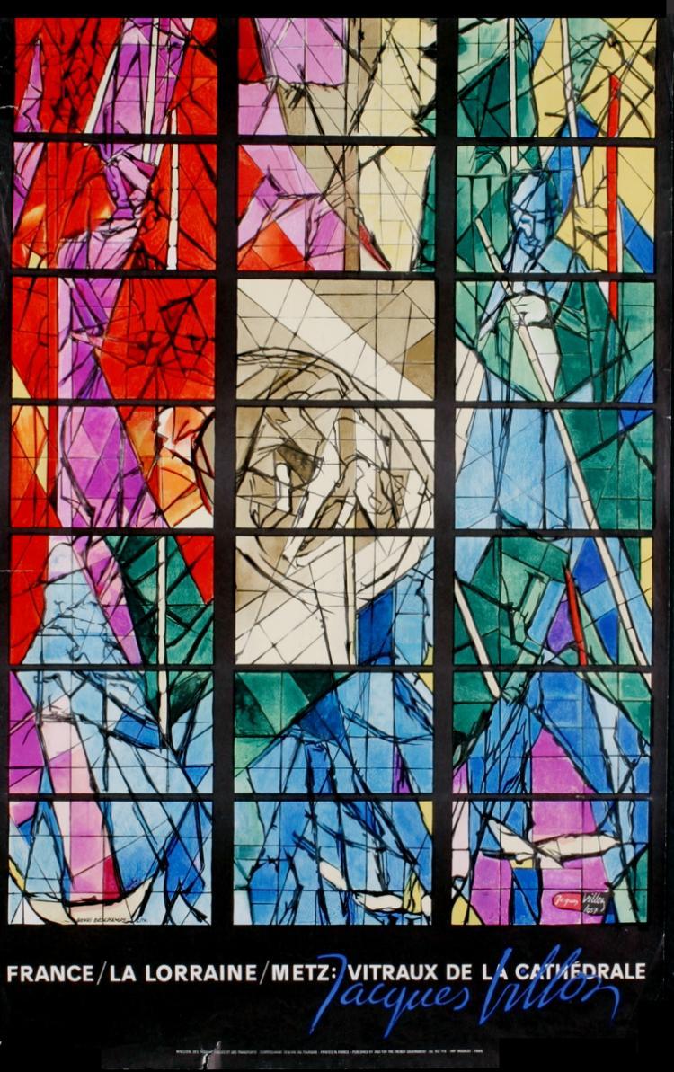 Jacques Villon - Vitraux de la Cathedrale