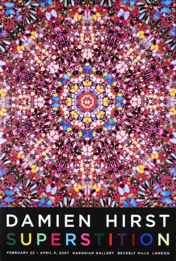 Damien Hirst - Superstition - 2007