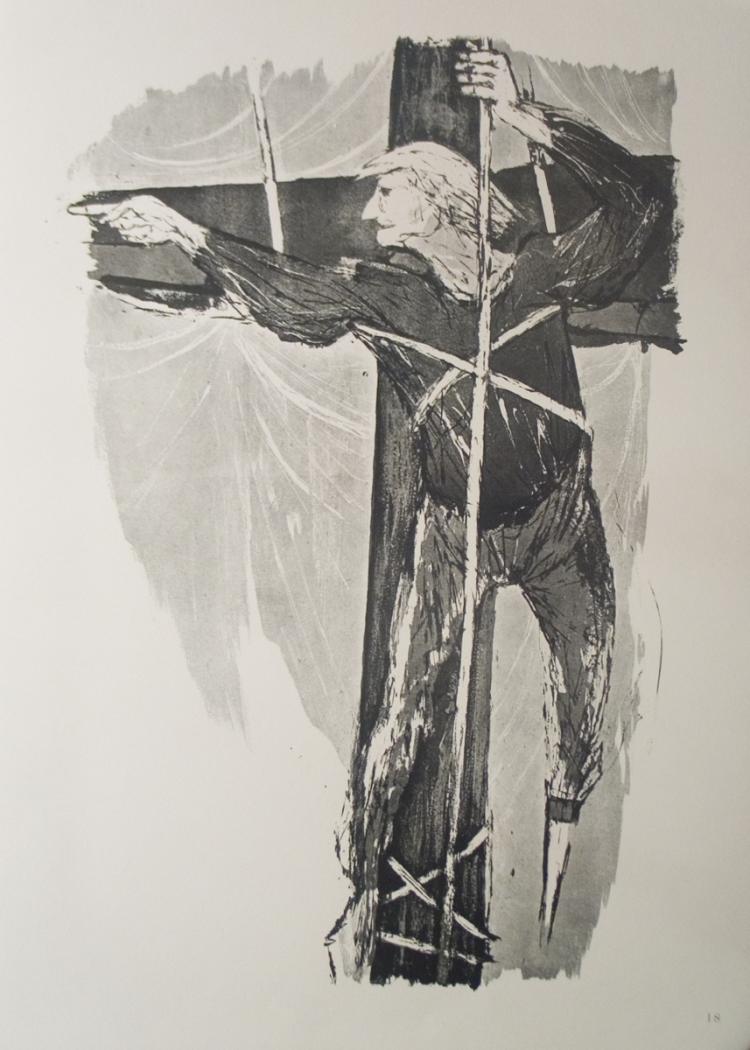 Benton Spruance - Ahab Aloft