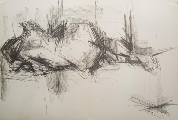 Gerard Fromanger - Paloma allongee - 1965