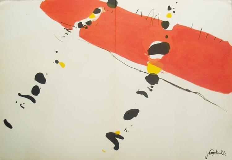 Jean Capdeville - Derriere le Miroir - 1965