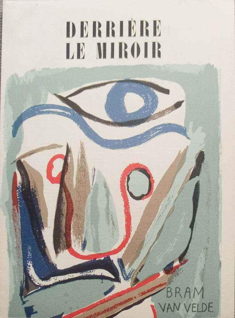 Bram van Velde - DLM no. 43 COVER - 1952
