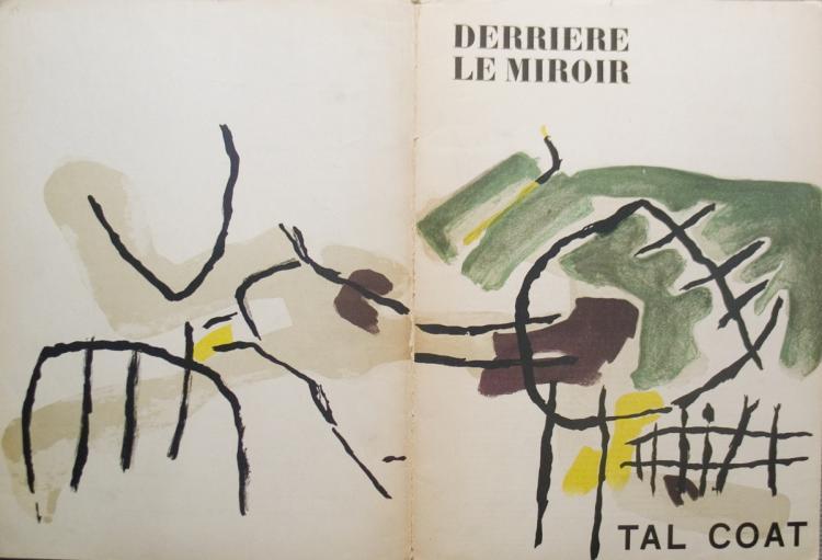 Pierre Tal-Coat - Ecrit sur le Rocher, 1966