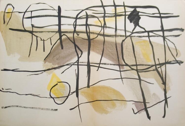 Pierre Tal-Coat - Age de fer, II, 1956