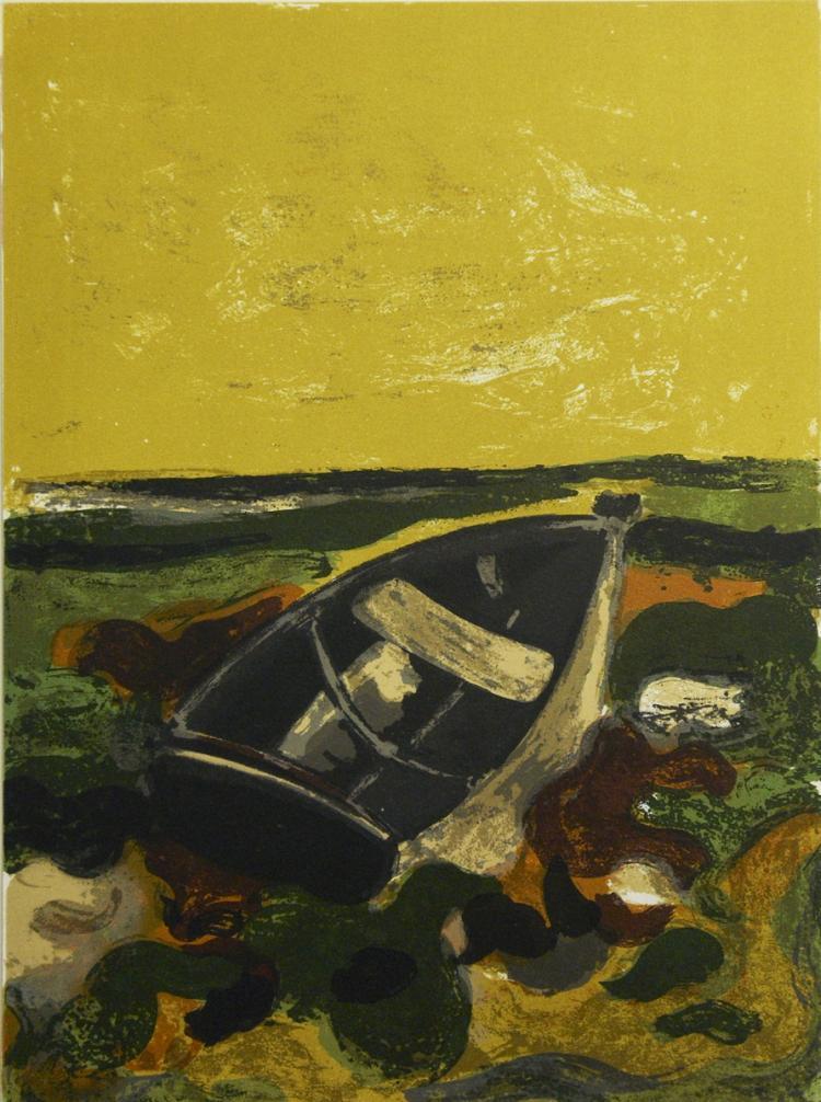Andre Minaux - La Barque Echouee - 1964
