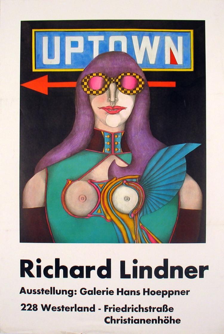 Richard Lindner - Galeri Hans Hoeppner