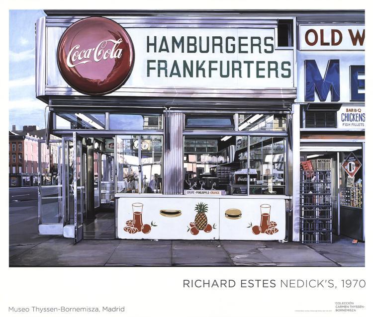 Richard Estes - Nedick's - 2001