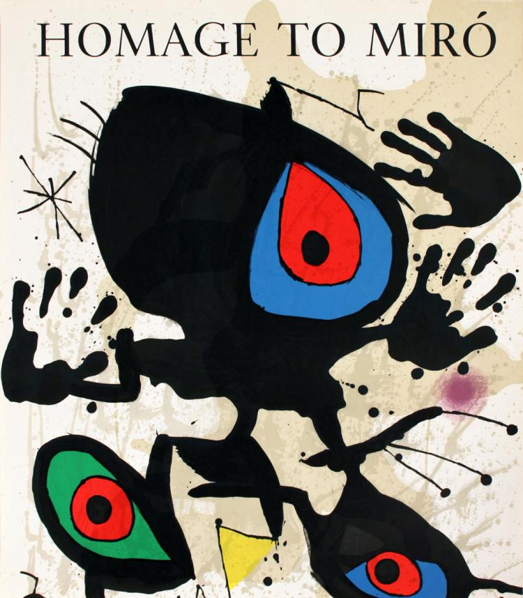Joan Miro - Homage to Miro