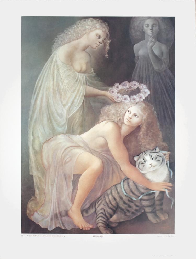 Leonor Fini - Le Couronnement de la Bienheureuse Feline
