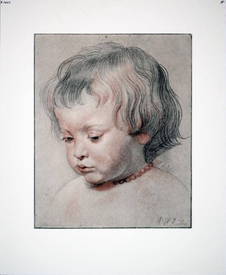 Peter Paul Rubens - Portrait of a Child