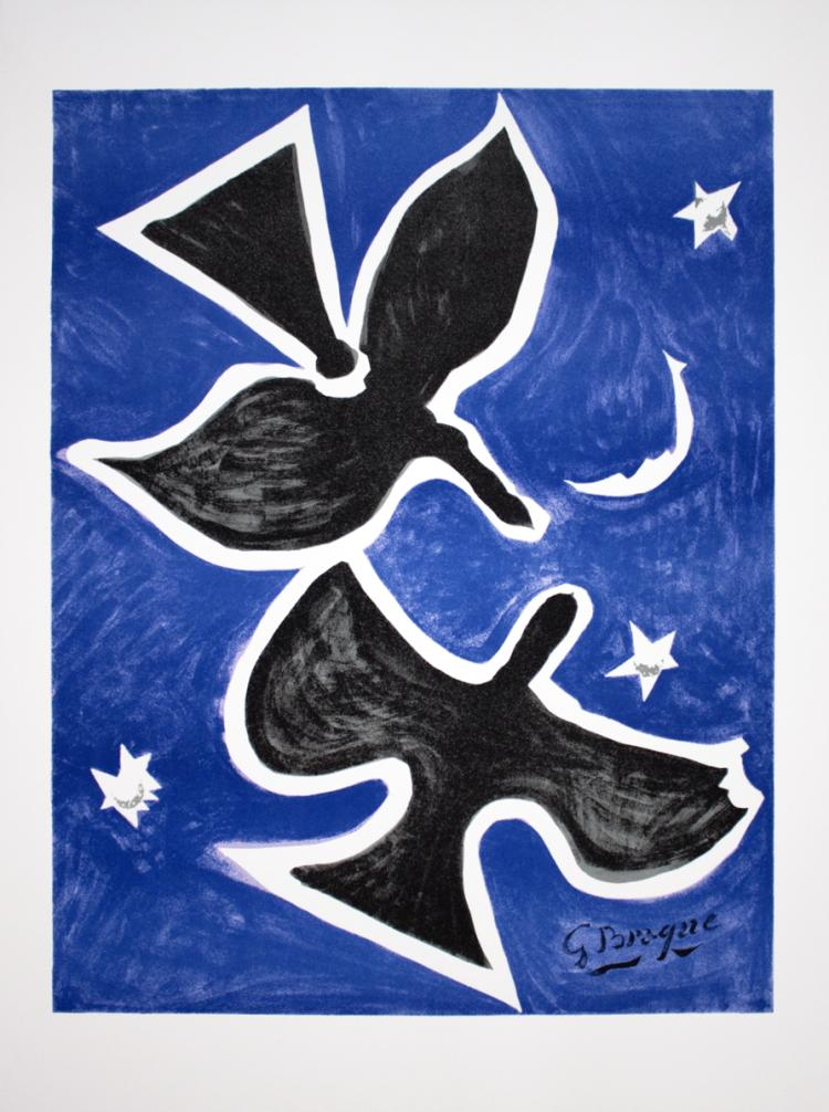 Georges Braque - Two Birds - 1996