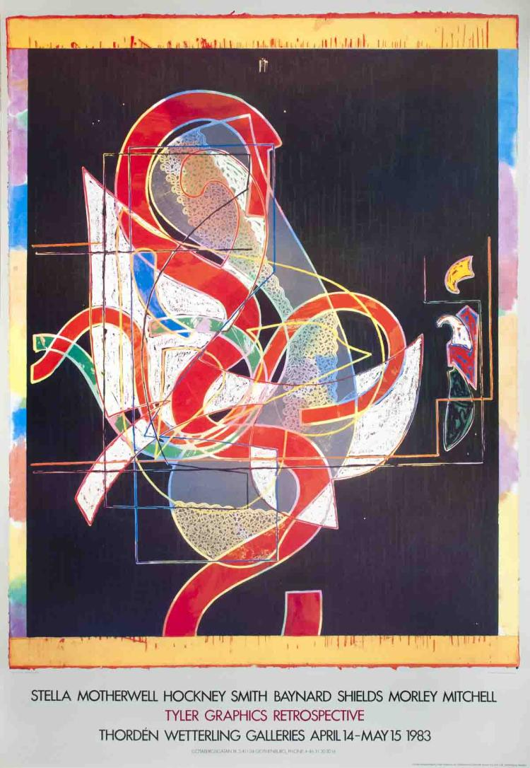 Frank Stella - Pergusa Three - 1983