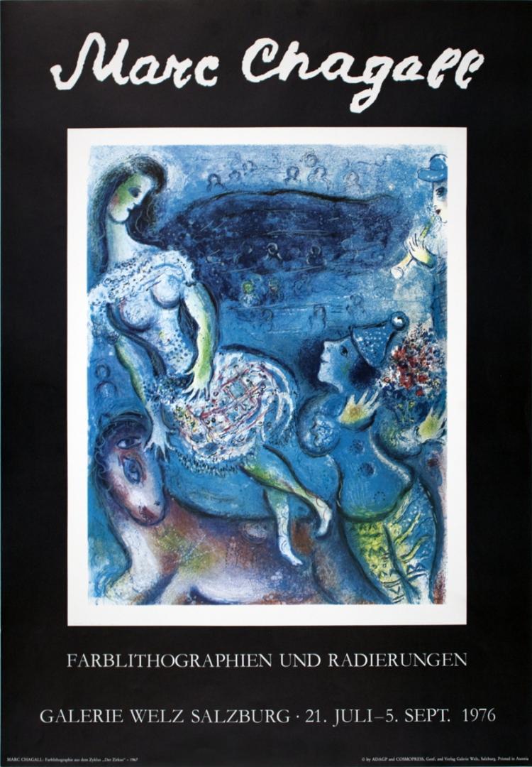 Marc Chagall - Der Zirkus - 1976