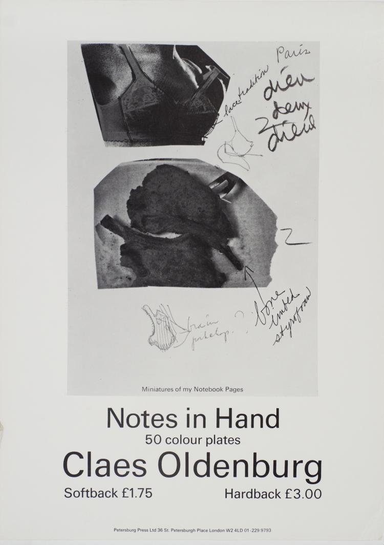 Claes Oldenburg - Notes in Hand