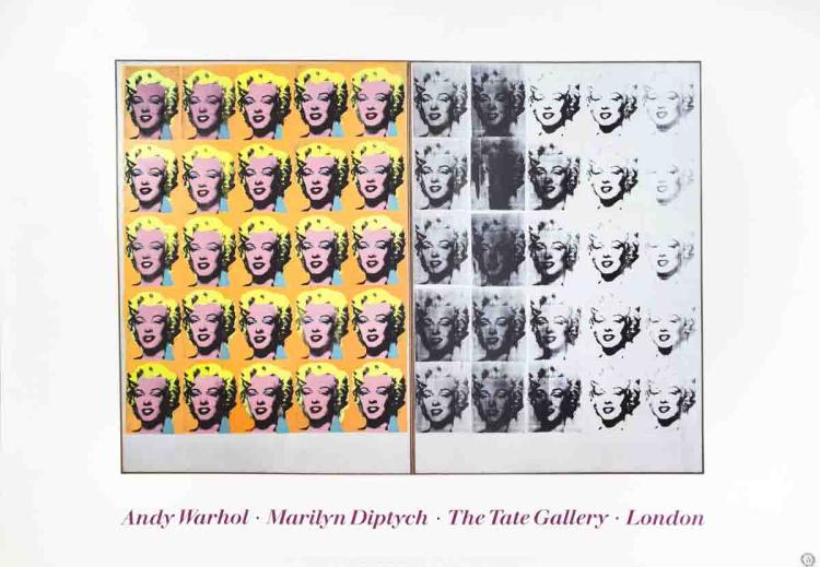 Andy Warhol - Marilyn Diptych - 1991
