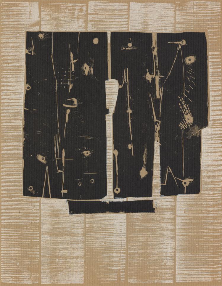 Pietro Consagra - Untitled - 1959