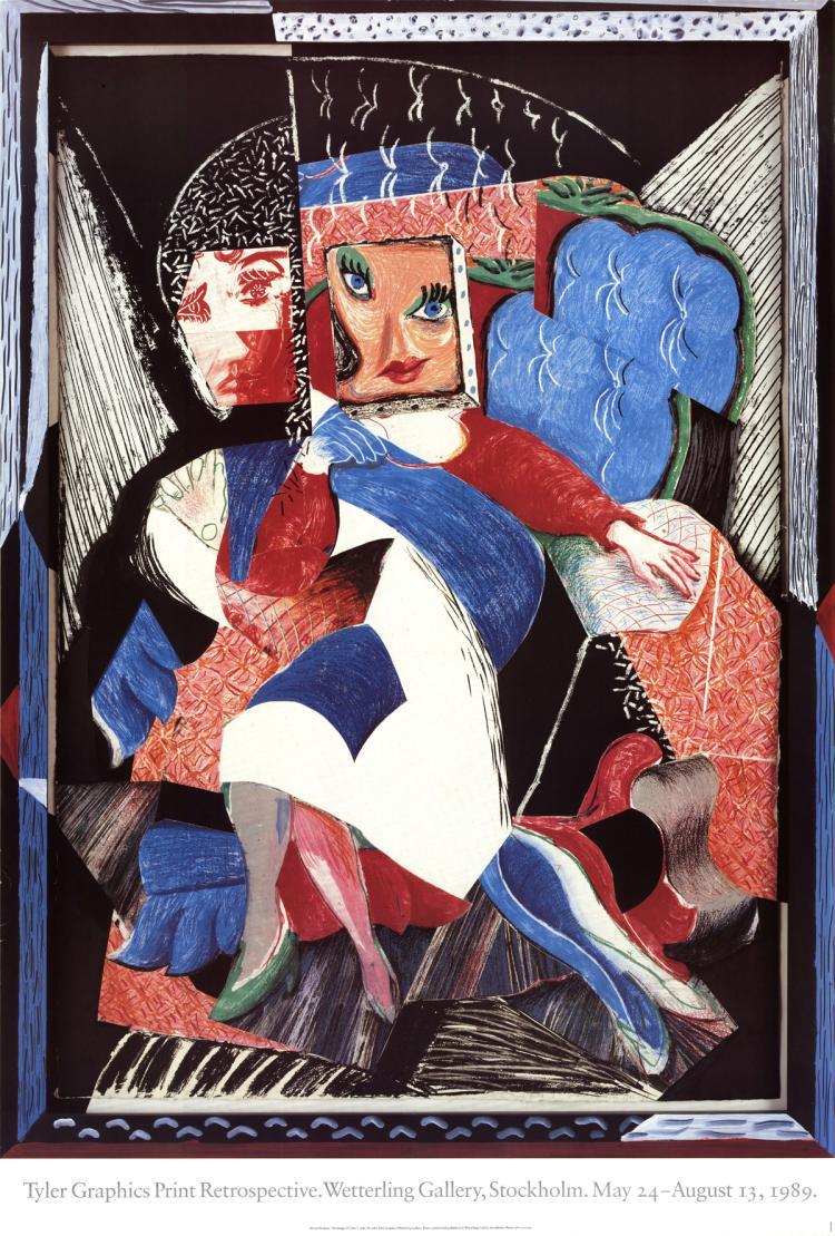 David Hockney - An Image of Celia - 1989