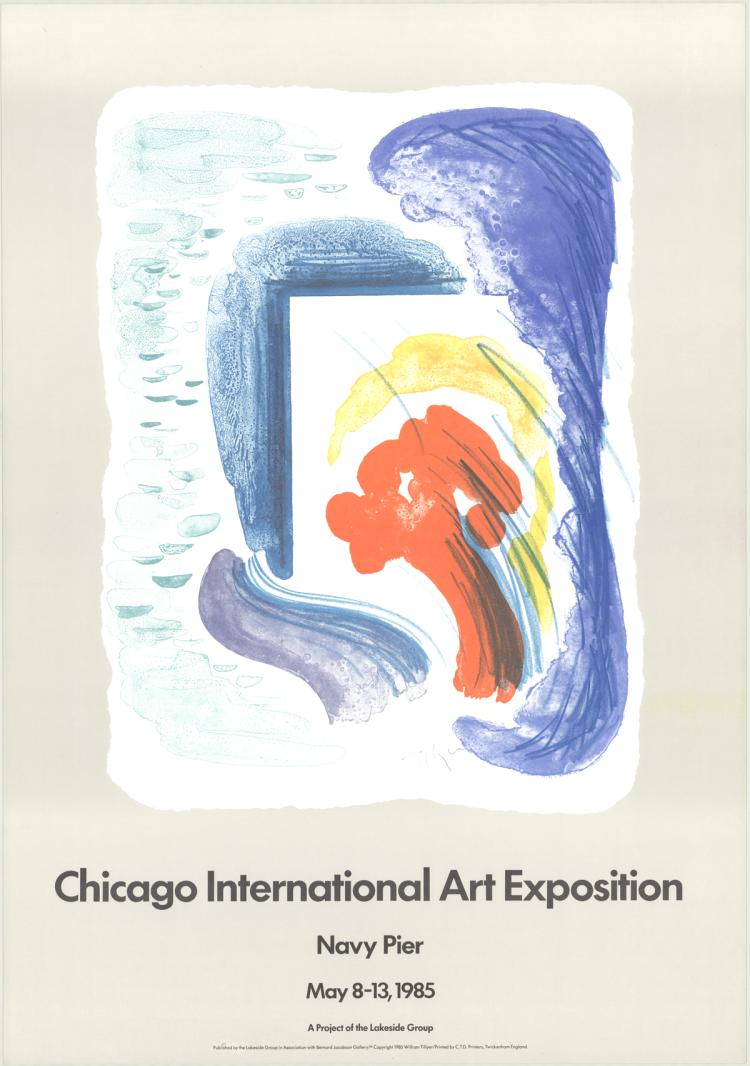 William Tillyer - Chicago International Art Exposition - 1985