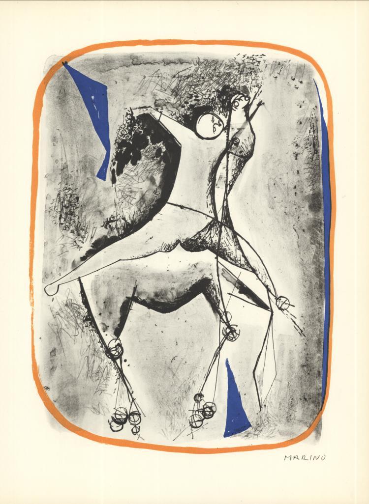 Marino Marini - Cavalier et Cheval - 1959