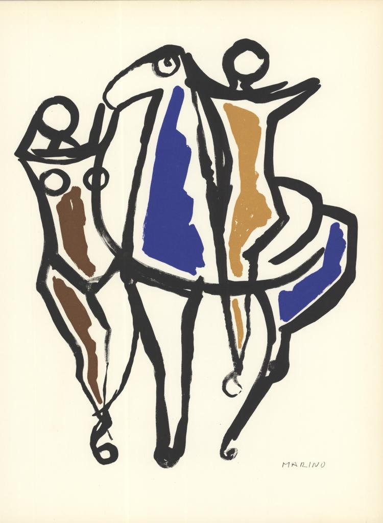 Marino Marini - Ceramica II - 1959