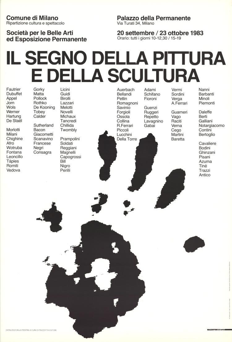 Richard Long - Il Segno Della Pittura E Della Scultura - 1983