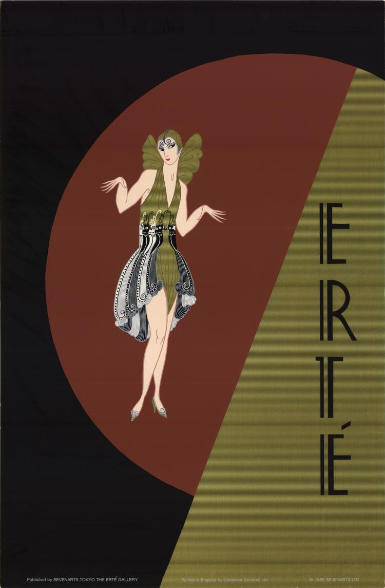 Erte - Untitled - 1988