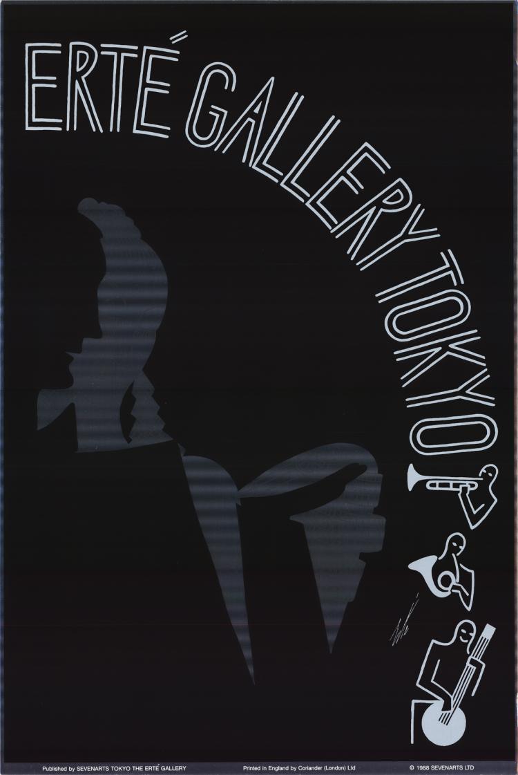Erte - Gallery Tokyo - 1988