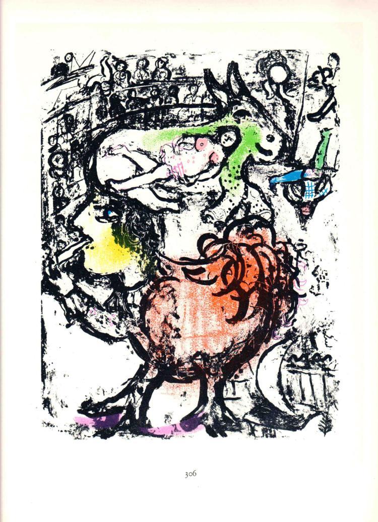 Marc Chagall - Pirouette au Cirque - 1963