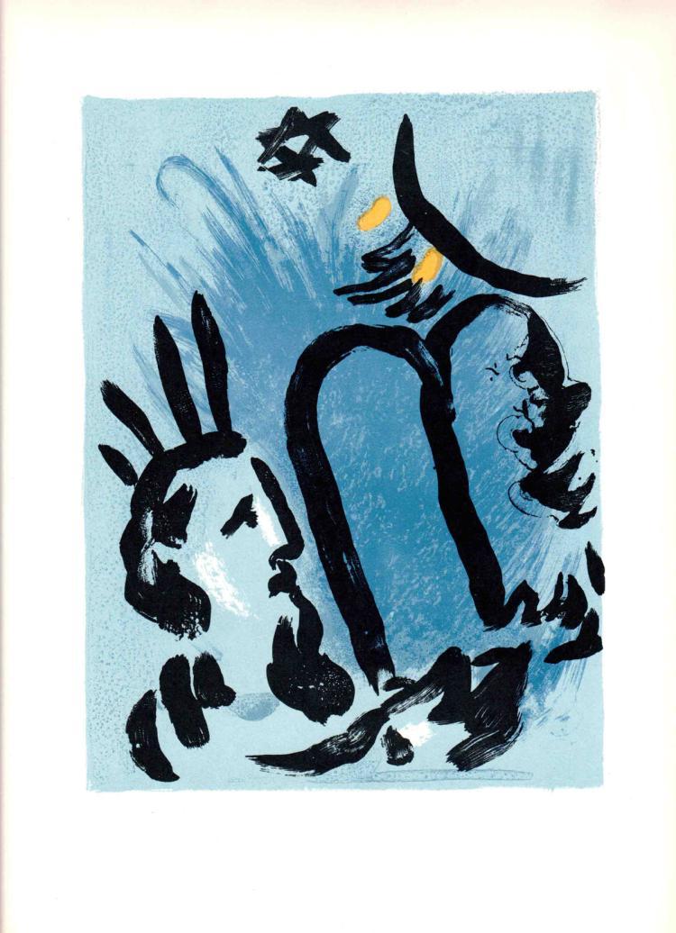 Marc Chagall - Moise - 1963