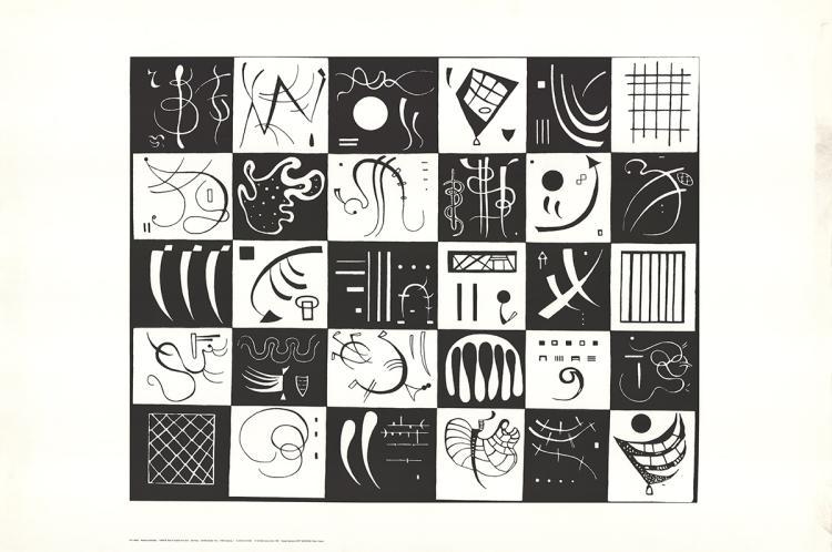 Wassily Kandinsky - Thirty (Lg)