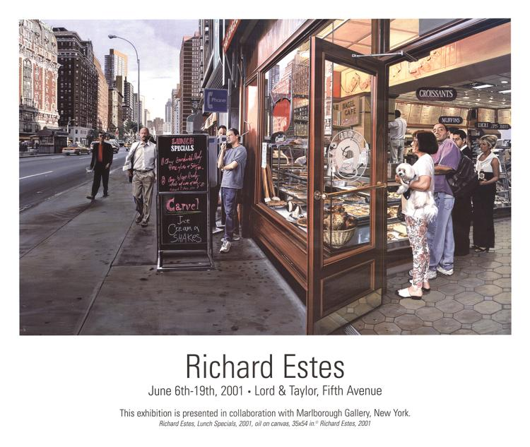 Richard Estes - Lunch Specials - 2001
