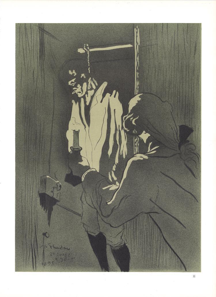 Henri de Toulouse-Lautrec - Le Pendu - 1966