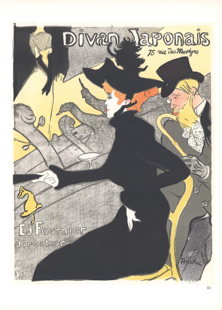 Henri de Toulouse-Lautrec - Le Divan Japonais - 1966