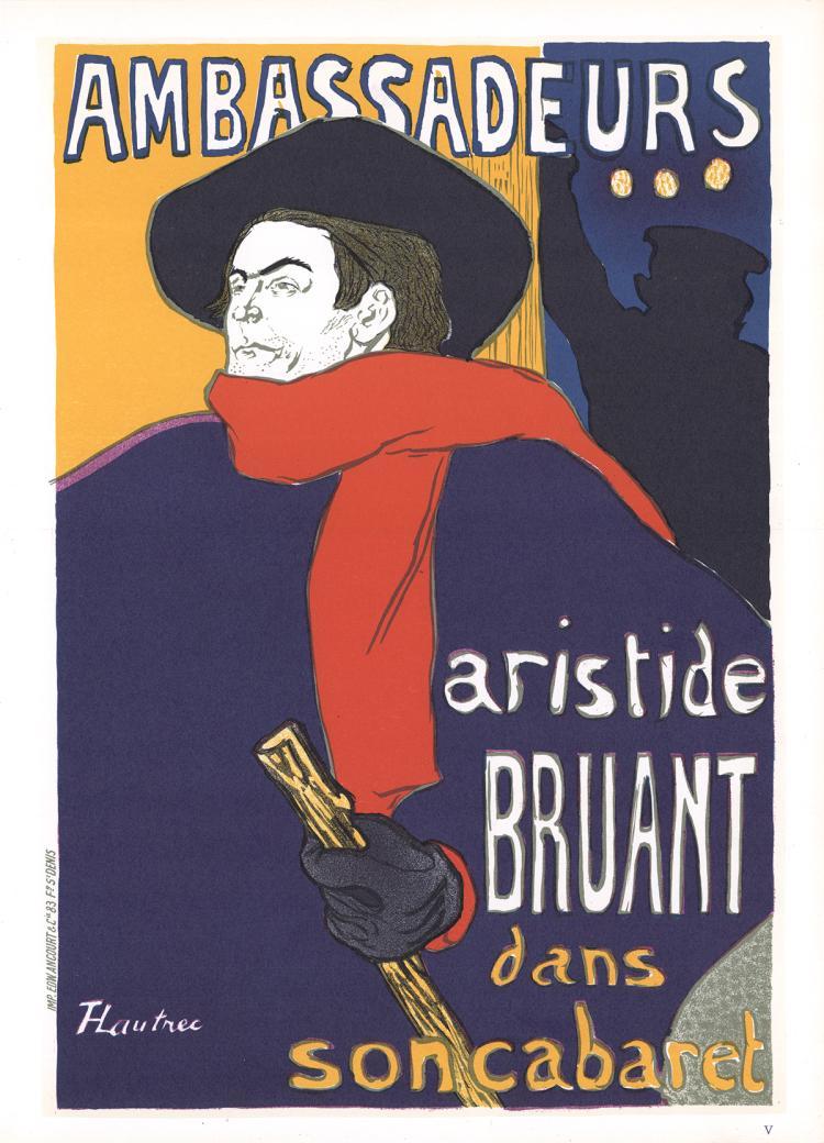 Henri de Toulouse-Lautrec - Aristide Bruant-Ambassadeurs - 1966