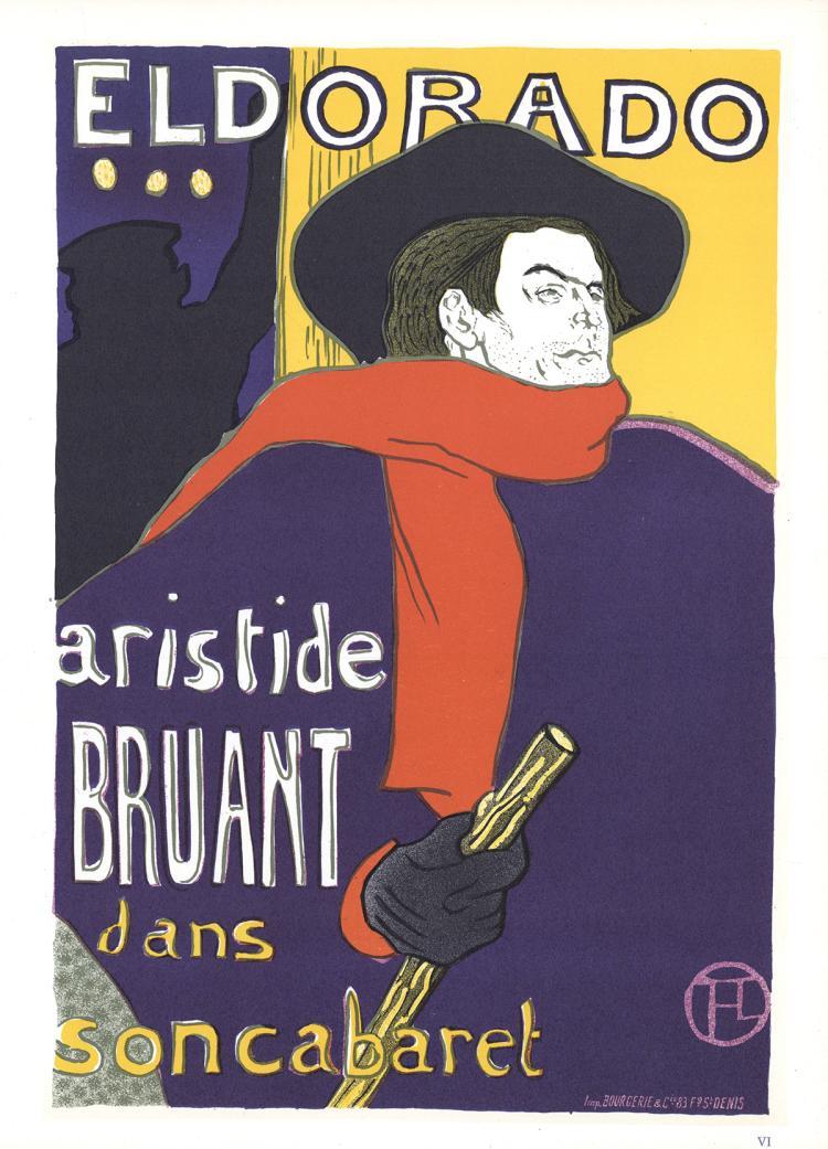Henri de Toulouse-Lautrec - Aristide Bruant-Eldorado - 1966