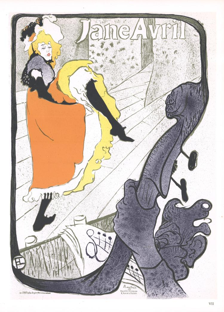 Henri de Toulouse-Lautrec - Jane Avril - 1966