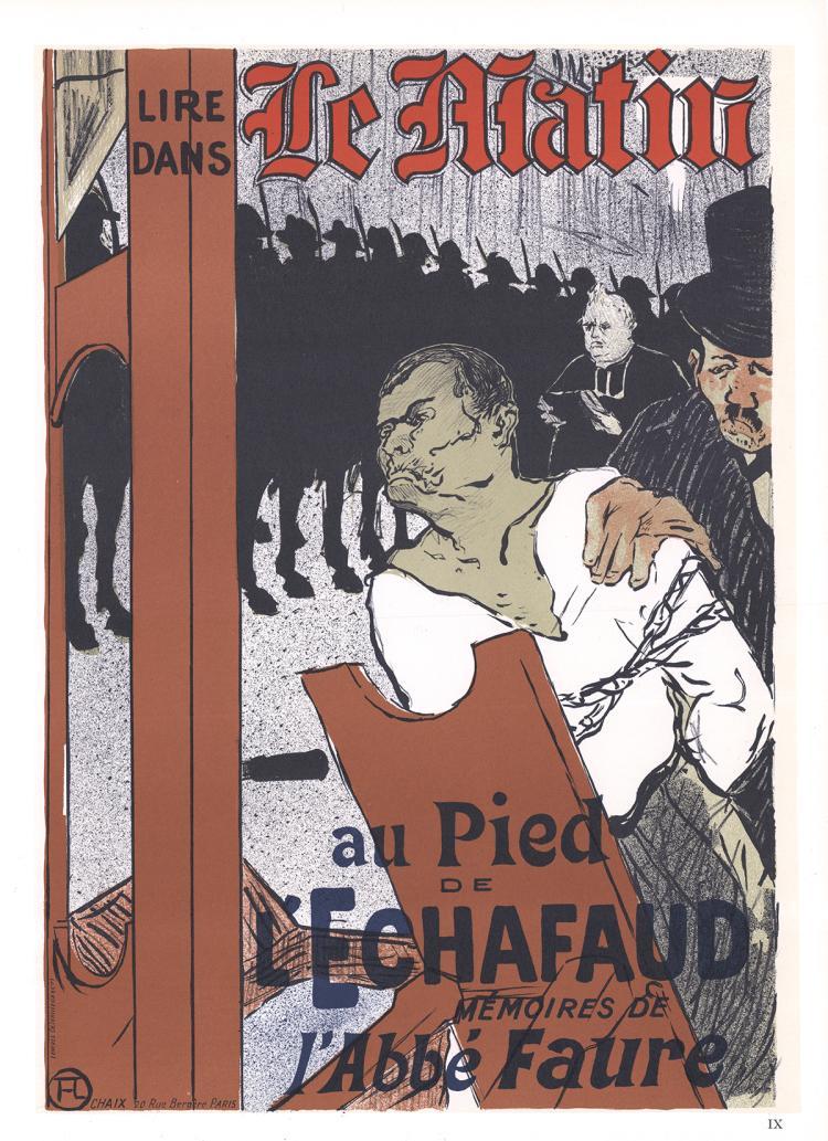 Henri de Toulouse-Lautrec - Le Matin Au pied de l'echafaud - 1966