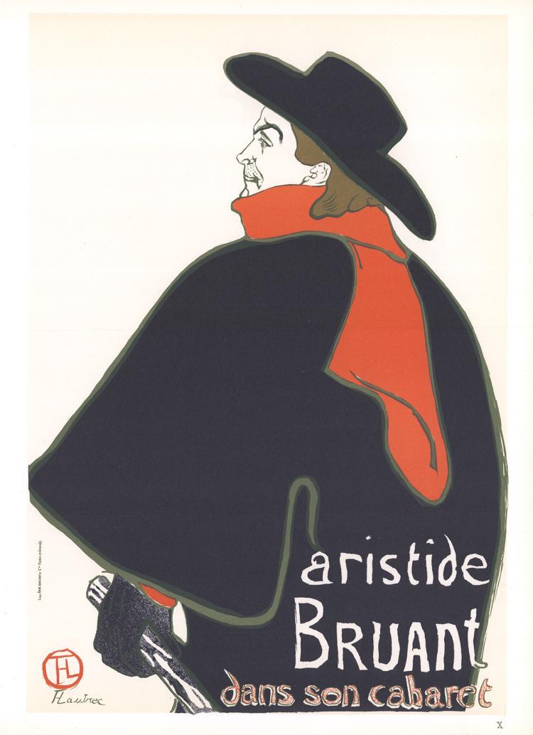 Henri de Toulouse-Lautrec - Aristide Bruant dans son cabaret - 1966