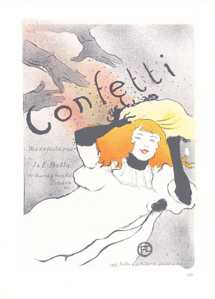Henri de Toulouse-Lautrec - Confetti - 1966
